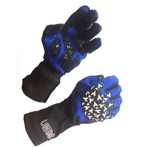 """Racing"" gloves"