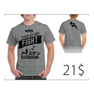 T-Shirt WCA stand up and fight SMALL
