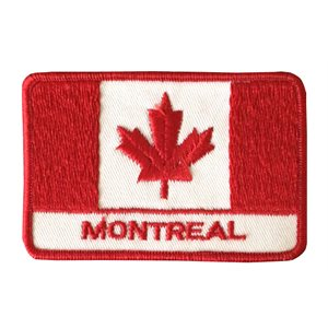 Canada + Montreal flag crest