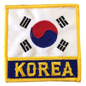 Korean flag crest
