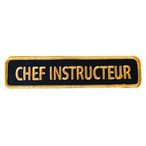 Crest Chef Instructeur (french)
