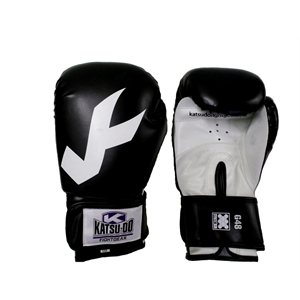 Vinyl boxing gloves tight wrist