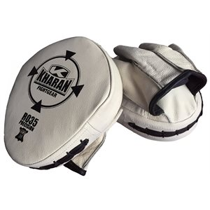 Leather training mitt