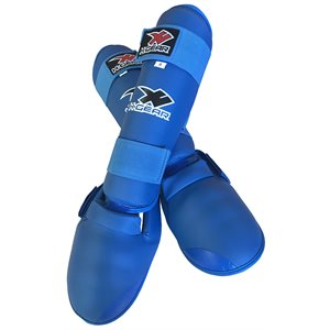 H-Gear™ Shin pad w / removable instep WKF style