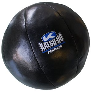 Leather medecinal ball