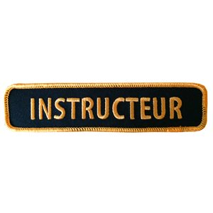 Écusson Instructeur